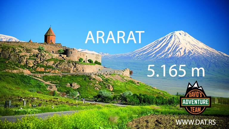 Ararat (5.137 m) – Turska