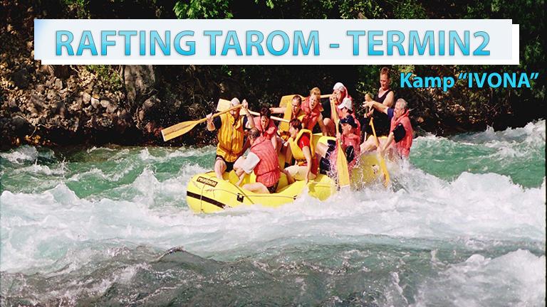 RAFTING TAROM / Termin 2
