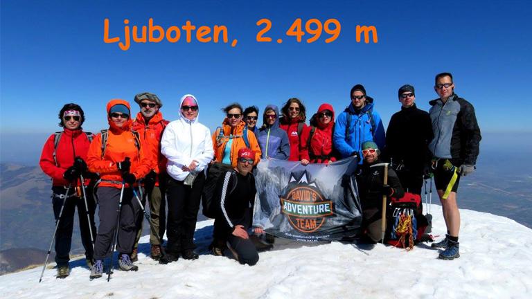 Ljuboten 2.499m