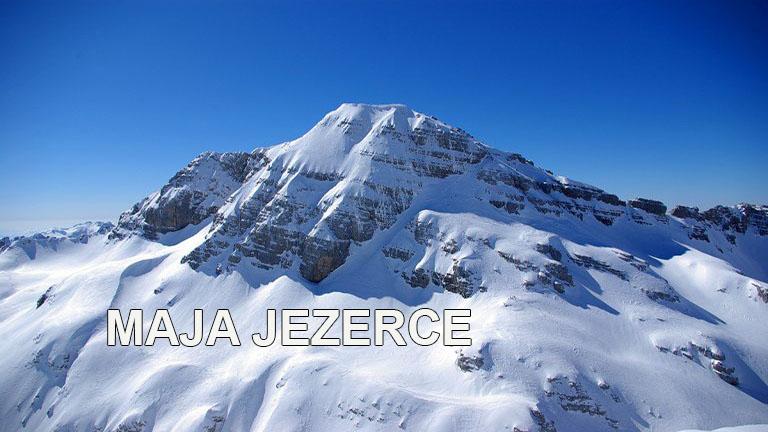 Maja Jezerce iz doline Valbona (2694m)