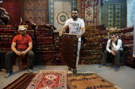 Isfahan - jedan ovaj tepih je oko 1.500 eur
