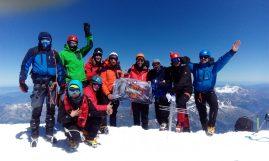 Na vrhu Mont Blanc, 4.810 m