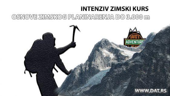 OSNOVE ZIMSKOG PLANINARENJA DO 3.000 m