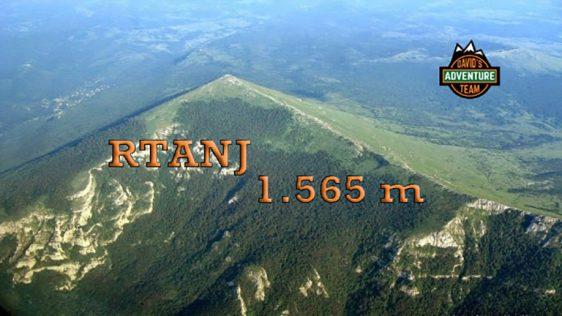 RTANJ, 1565m – severnom stranom