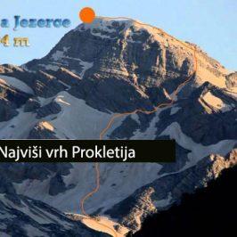 Maja Jezerce  (2694m)