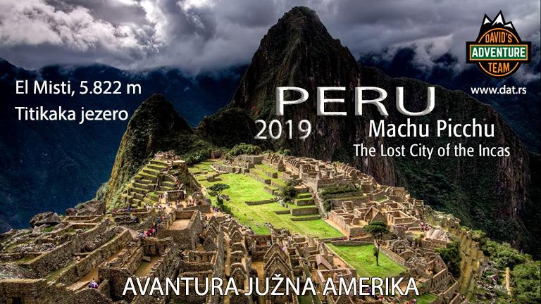 PERU-INKA TREK-EL MISTI 5.822m